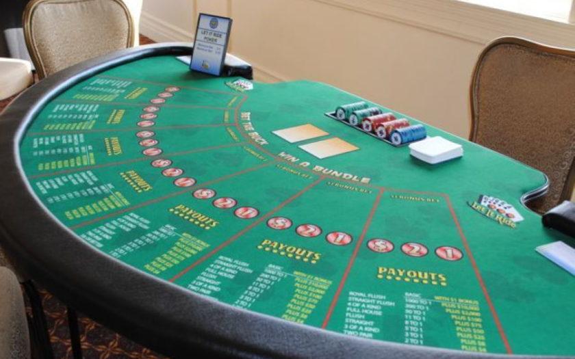 Let It Ride Poker Strategy