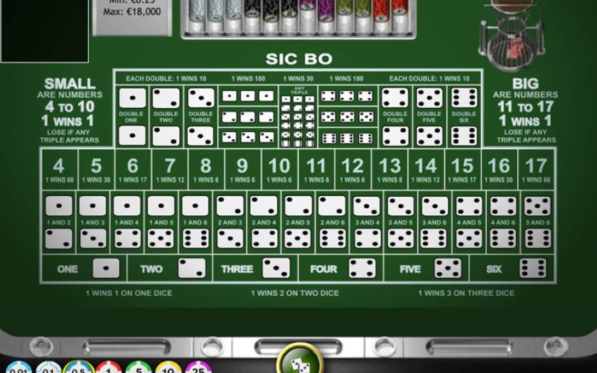Play Sic Bo Online